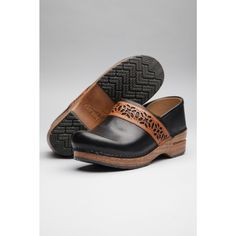 Dansko Pavan Black Clog Handmade from Cellar Leather on Cape Cod