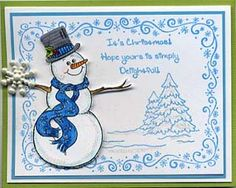 Stamp of the Month October 2011 - Great Impressions Rubber Stamps Diy Cards Stamps, October