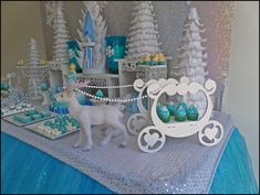 Disney Frozen Birthday Party Ideas | Photo 1 of 19 | Catch My Party