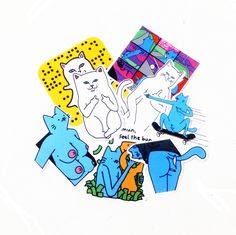 (8Sheet/Set) Ripndip bookmark Diary Stickers Post it Kawaii Planner Memo Scrapbooking Sticker Stationery 2017New School Supplies-in Bookmark from Office & School Supplies on Aliexpress.com | Alibaba Group