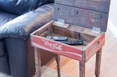 Up-cycled / Repurposed Coca Cola Crate End by InspiredRestoration