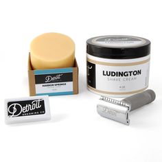 At Detroit Grooming we Know Men's Grooming and Shaving - Check out our shaving line of products