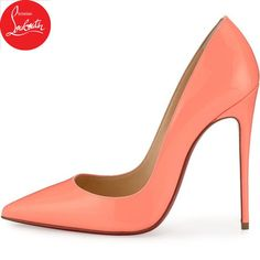 0c23a218a86 Christian Louboutin So Kate Patent 120mm Red Sole Pump (17 680 UAH) ❤ liked  on Polyvore featuring shoes