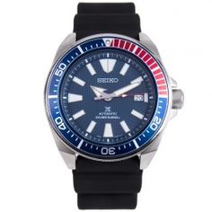 Seiko Automatic Prospex Scuba Divers Made in Japan Male Watch Big Watches, Seiko Watches, Cool Watches, Watches For Men, Stylish Watches, Seiko Automatic, Automatic Watch, Seiko 5 Sport, Seiko Samurai