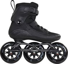 Powerslide Swell 125 Schwarz Skate - Herren Inline Skates Roller Derby, Roller Skating, Blade Shoes, Inline Speed Skates, Skate Man, Quad Skates, Skate Wheels, Freestyle, Short Boots