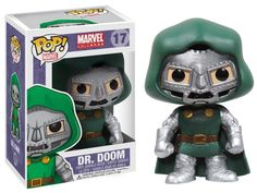 Funko POP Marvel Bobble Figure, Dr. Doom