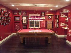 Utah Utes Game Room. #GoUtes #UtahManCave