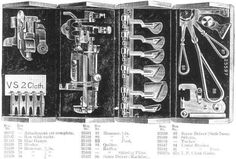 Singer Model 27 Oak Attachment Puzzle Box Case