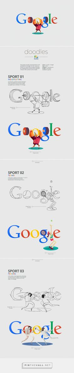 Rio 2016 Olympic Games Google Doodle