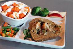 Vegan Stuffed Seitan Roast with Mushroom Gravy   Thanksgiving Holiday Recipe - Mary's Test Kitchen
