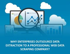 It's entirely easy to understand that you would certainly require depending on a professional #webdatascraping company to essence #data information for you if modern technology is not your strength.  #Outsourcing #WebScraping #Dataextraction