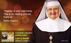 #TuesdayTip #MotherAngelica #EWTN #Catholic