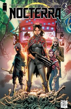 Nocterra #2 & #3 from Image Comics & Best Jackett have sold out. New printings are coming on 6/2.