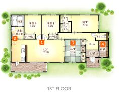 img_2_菊池市 Craftsman Floor Plans, Sims House Design, Japanese House, House Plans, Layout, Exterior, Flooring, How To Plan, Architecture