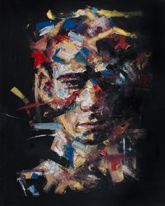 Davide Cambria is the artist behind these oil paintings, he creates them using oil paints on canvas, wood or board. He is a self taught painte Abstract Portrait, Portrait Art, Painting Portraits, Davide Cambria, Human Painting, Summer Painting, A Level Art, High Art, Art Sketchbook