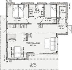 Planlösning, Gläntan 76