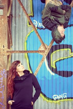 factory ❘❙❚ toonzshop ; alternativ couple ; chaos ; abandoned place ; hangar ; graffiti; tattoo ; piercings ; long hair ; underground style ; squat