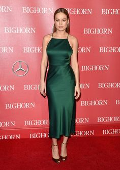 Brie Larson in Jason Wu Pre-Fall 2016 at the 27th Annual Palm Springs International Film Festival Awards Gala on January 2, 2016