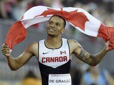 Canadian sprint sensation Andre De Grasse will try to win three medals in Rio. #GoTeamCanada