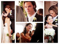 Jared Padalecki and his beautiful wife Genevieve  (Sam & Ruby)