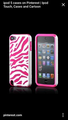 Pink iPod case