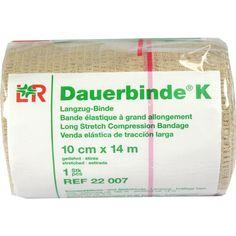 DAUERBINDE kräftig 10 cmx14 m:   Packungsinhalt: 1 St Binden PZN: 01458907 Hersteller: Lohmann & Rauscher GmbH & Co.KG Preis: 49,47 EUR…
