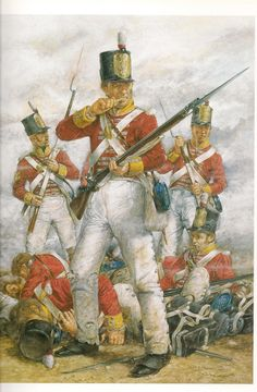 British 57th Regt at Albuera