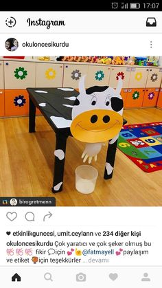 cows Milking the cow act . Milking the cow activity cows Milking the cow activity - Educational Activities, Preschool Activities, Art For Kids, Crafts For Kids, Milk The Cow, Dramatic Play Centers, Farm Crafts, Farm Theme, Art N Craft