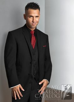 The Black 'Asbury' Suit has two defining features: a ticket pocket on the right side, and pick-stitchingon the lapel! Because there is no satin on the lapel, this style can be worn as a suit, or a modern day stroller coat! This style is very fashionable, and is sure to look great on you at prom or any other formal event!