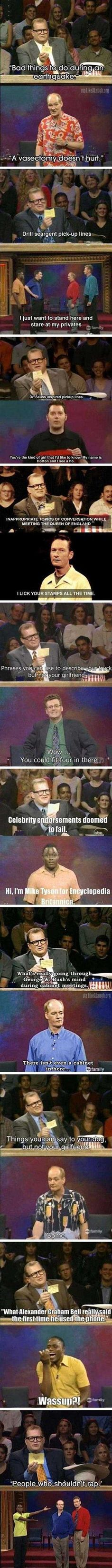 Hilarious answers