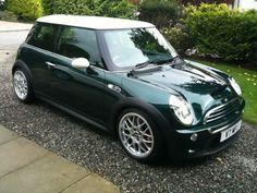 British racing green cars