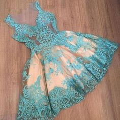 Blue Homecoming Dress Short Prom Dress Elegant 2016 New arrival Homecoming gowns…