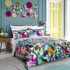 Mode Duvet Cover - Floral Bedding | bluebellgray