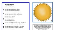 God made the world Song.pdf