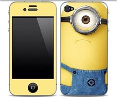 Minion iPhone case, yes please - does it come for 4Gs?  My current phone case is all worn out - I need this one, and my birthday is at the end of the month (ahem). :D