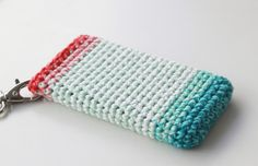 Lutter Idyl: Crochet iPhone Cover (pattern in danish)