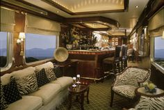 Bar In The Well Heeled Iron Horse - The Orient Express