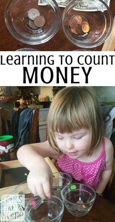 Teaching preschoolers to count money