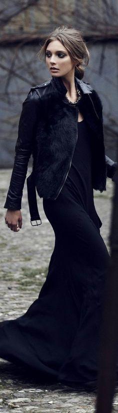 #street #fashion fall allblack @wachabuy