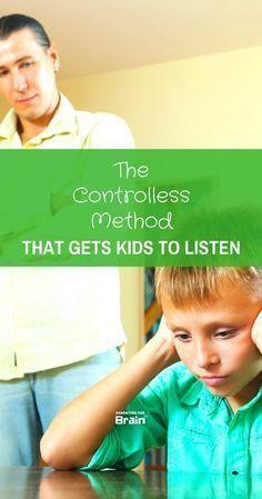 5 Secret Steps To Get Kids To Listen #RaisingKids #PositiveParenting #parentingforbrain