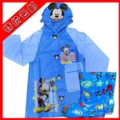 little boys raincoats blue