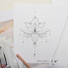 Dope Tattoos, Dream Tattoos, Badass Tattoos, Mini Tattoos, Tattos, Small Tattoos, Tattoo Femeninos, Sternum Tattoo, Mandala Tattoo