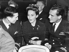 Olivia de Havilland at the Hollywood Canteen   (1943)