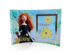 Brave (Merida) Curved Glass Print with Photo Frame