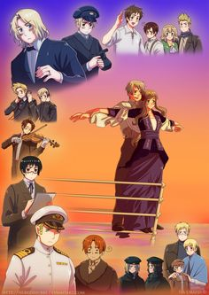 HETALIA TITANIC!!! OMG! I'm in fucking heaven right now!