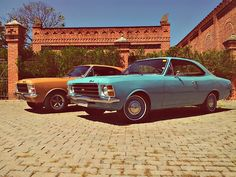 1978 Chevrolet Opala de Luxo & (Mine) 1977 Chevrolet Opala Especial