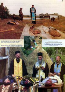 Massacred Orthodox Christian Serbs by NATO backed Albanians, Kosovo i Metohija, Serbia...