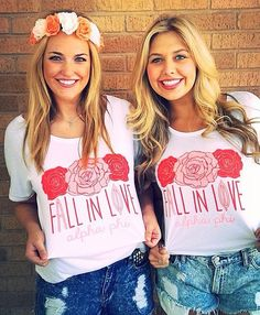 Fall in love with Alpha Phi // made by 224 Apparel #RecruitmentReady #AlphaPhi