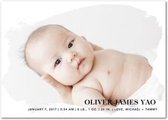 1 Photo Neutral Create unique birth announcements online today with Tiny Prints. Choose from categories such as girl, boy, and neutral, as well as foil stamped and glitter cards. Birth Announcement Photos, Announcement Cards, Birth Announcements, Tiny Prints, Baby G, Glitter Cards, Nursery Themes, Beautiful Children, Newborn Photos