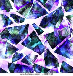 Watercolor crystal contrast background